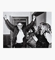 Bernie Sanders Protest 60's 1960's Photographic Print