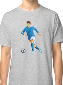 Italian player dribble a ball Classic T-Shirt