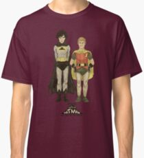 The Adventures of Hat-man and John the Boy Wonder Classic T-Shirt