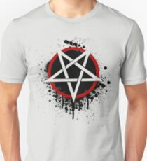 Reversed Dropping Pentagram Unisex T-Shirt