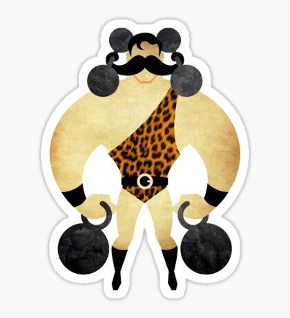 Strongman Sticker