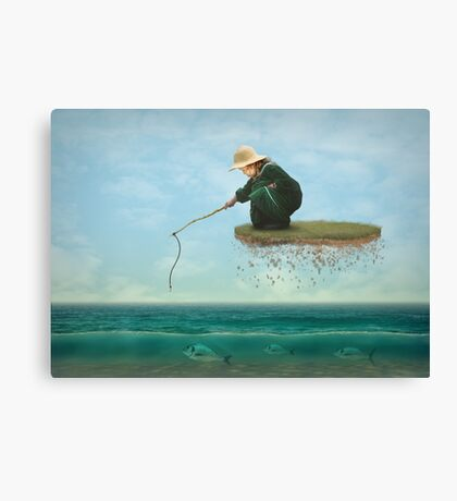 A Dream Catch Canvas Print