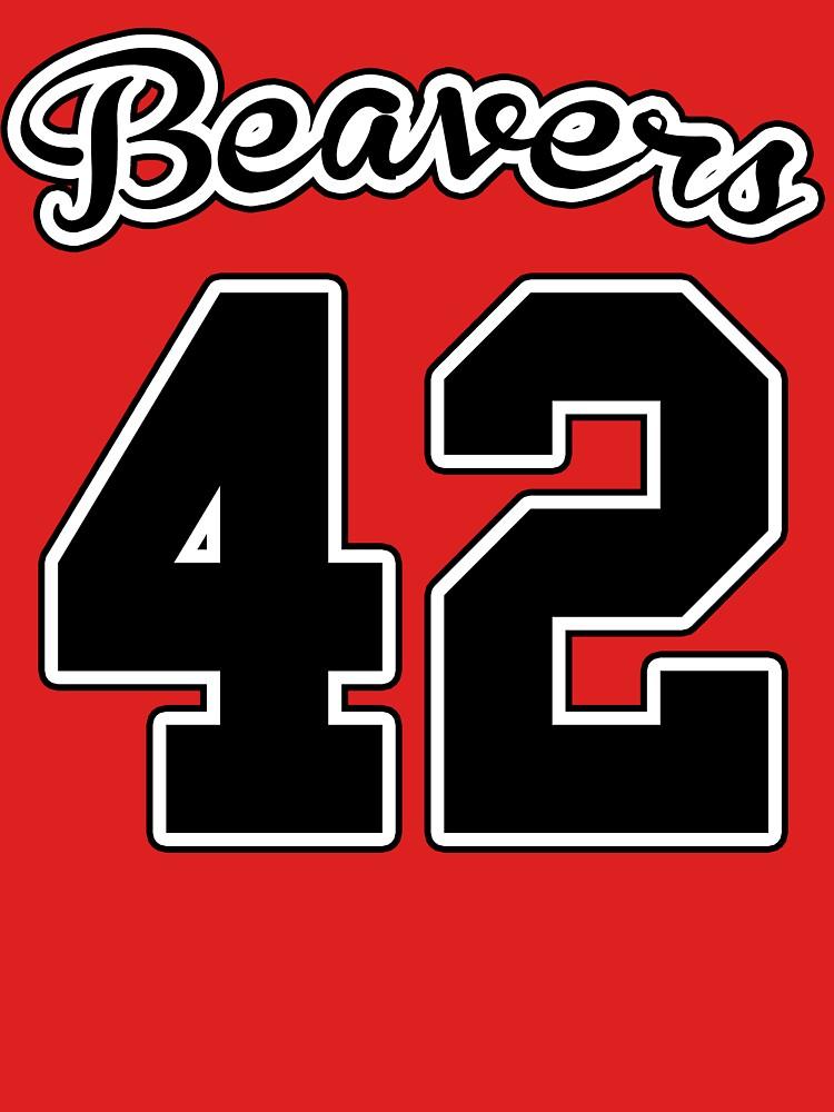 Beavers 42 Teen Wolf T-shirt