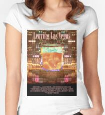 Leaving Las Vegas Movie Poster Women's Fitted Scoop T-Shirt