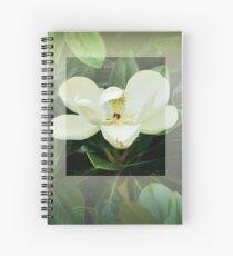 Magnolie Blume Spiralblock