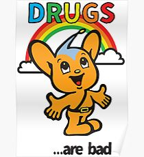 Pipo-Kun - Drugs Are Bad Poster