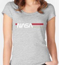 Retro NASA Women's Fitted Scoop T-Shirt