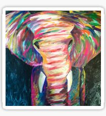 abstract elephant Sticker