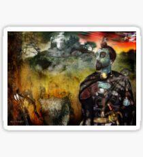 Mystical Adventures (art & poetry) Sticker