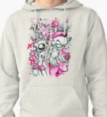 Pink Zef Pullover Hoodie