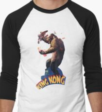 King Kong Retro Men's Baseball ¾ T-Shirt