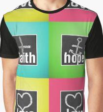 Love Faith Hope Love Graphic T-Shirt