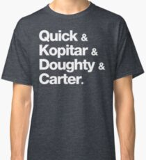 Quick & Kopitar & Doughty & Carter. Classic T-Shirt