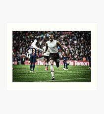 Manchester United - FA Cup 2016 - Jesse Lingard Art Print