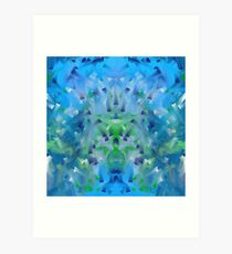 Under the Deep Blue Sea Art Print