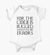 For the code is bugged and full of errors... Kids Clothes