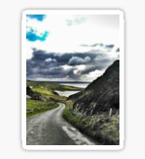 Beautiful Irish Afternoon in Donegal Sticker