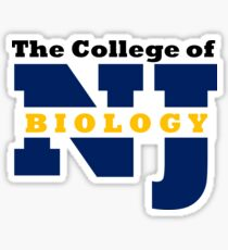 TCNJ Biology Sticker