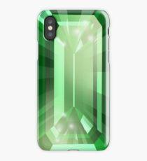 Emerald - E cut iPhone Case/Skin