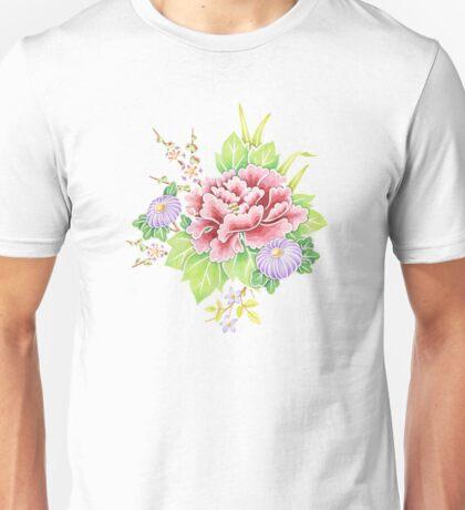 Kimono Bouquet Ditsy Chintz T-Shirt