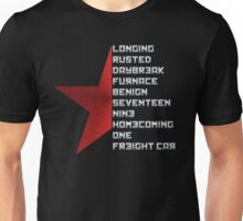 Code Comply Of Winter Soldier Unisex T-Shirt