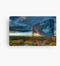 Office Building in Texas Canvas Print