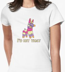 I'd Hit That Pinata Womens Fitted T-Shirt