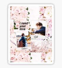 BTS Jungkook Day Polaroids Sticker