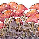 Mushroom Forest by Rayne Karfonta