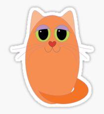 CAT MARMALADE ONE Sticker