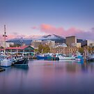 Hobart Sunrise by Paul Fleming