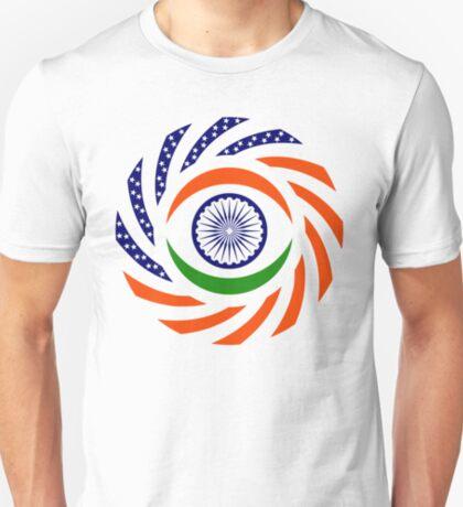 Indian American Multinational Patriot Flag Series T-Shirt
