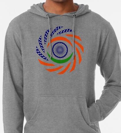 Indian American Multinational Patriot Flag Series Lightweight Hoodie