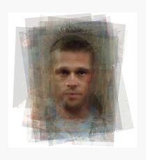 Tyler Durden Brad Pitt Fight Club  Photographic Print