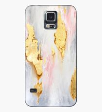 Gold Marble Case/Skin for Samsung Galaxy