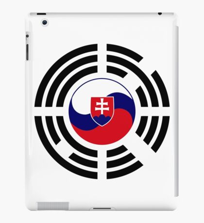 Korean Slovakian Multinational Patriot Flag Series iPad Case/Skin