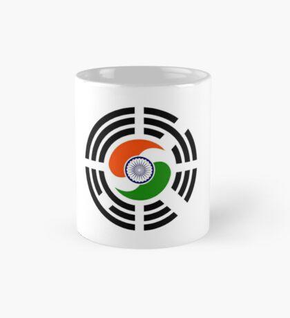 Korean Indian Multinational Patriot Flag Series Mug