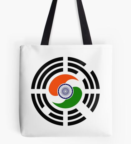 Korean Indian Multinational Patriot Flag Series Tote Bag