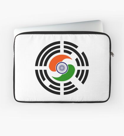 Korean Indian Multinational Patriot Flag Series Laptop Sleeve