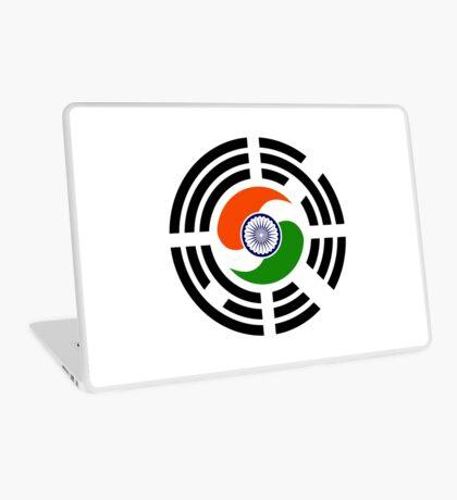 Korean Indian Multinational Patriot Flag Series Laptop Skin