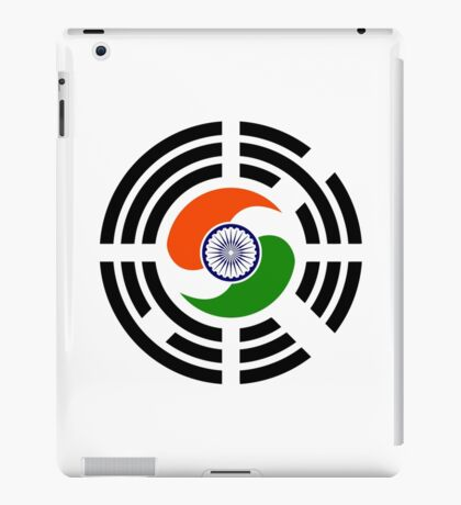 Korean Indian Multinational Patriot Flag Series iPad Case/Skin