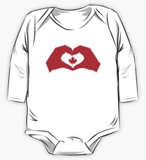 We Heart Canada Patriot Flag Series 1.0 Kids Clothes