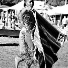 2) Young Shawl Dancer-#308 by Sassafras