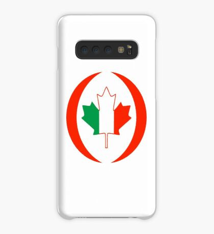 Irish Canadian Multinational Patriot Flag Series Case/Skin for Samsung Galaxy