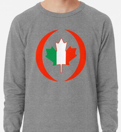Irish Canadian Multinational Patriot Flag Series Lightweight Sweatshirt