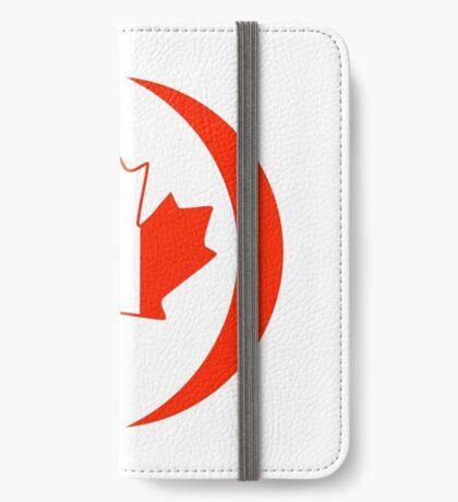 Irish Canadian Multinational Patriot Flag Series iPhone Wallet