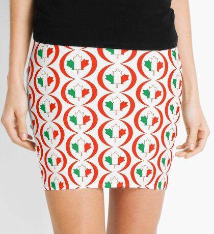Irish Canadian Multinational Patriot Flag Series Mini Skirt