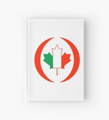 Irish Canadian Multinational Patriot Flag Series Hardcover Journal