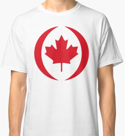 Canadian Patriot Flag Series 1.0 Classic T-Shirt
