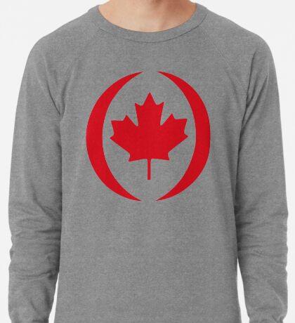Canadian Patriot Flag Series 1.0 Lightweight Sweatshirt